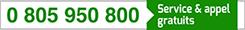 0805950800 (numéro vert)
